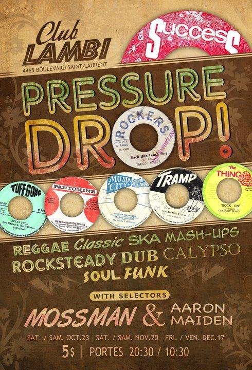 pressure drop flyer