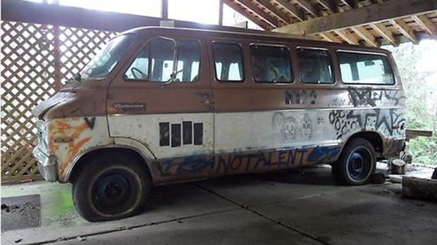 Melvins tour van