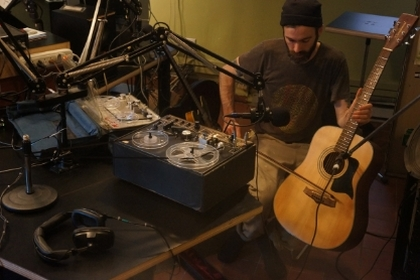 Nick Kuepfer live on CKUT's the Montreal Sessions