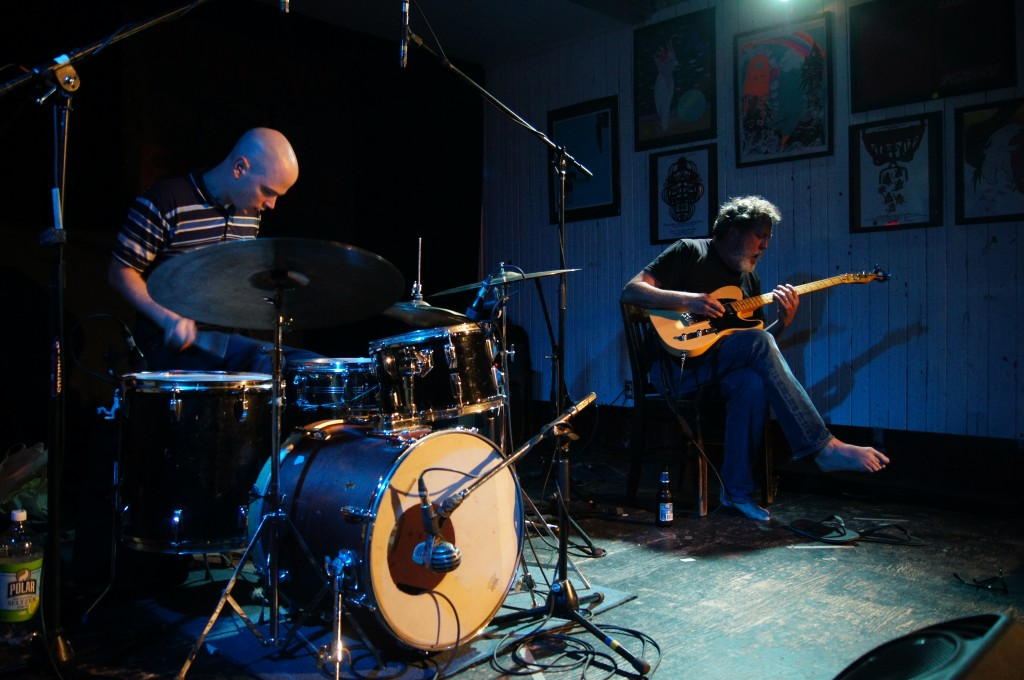 Bill Orcutt and Chris Corsano Live at Casa Del Popolo