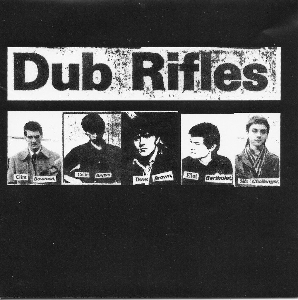 dub rifles cd booklet cover