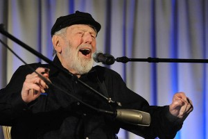 Theodore Bikel 90th birthday celebration with Moment magazineWashington Hebrew CongregationWith Sen. Patrick Leahy, Dr. Deborah Tannen, Zalmen Mlotek, Justice Ruth Bader Ginsburg, Tom Paxton, Cathy Fink and Marcy Marxer, Nadine Epstein, David Amram, Amichai Lau-Lavie - MC: Robert Siegel, Joan Nathan, David Saperstein
